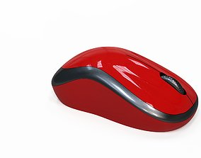 3D model Wireless Mouse electronics