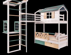 3D model Child bedroom set