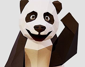 3D model Giant Panda