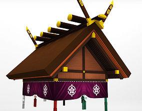 Sumo roof arena sport 3D model
