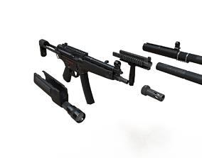 MP5 Game Ready Kit 3D model