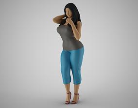 3D print model Woman City Mood 5