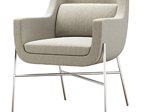 3D asset Ski Guest chair by HBF furniture