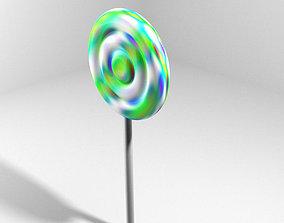 Lollipop manis 3D