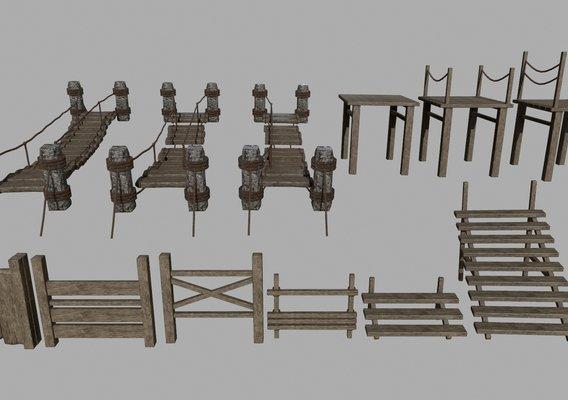 Wood Set