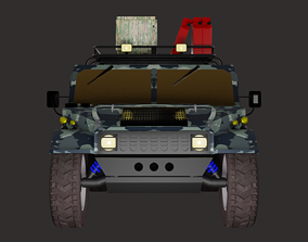 3D model Hammer field version