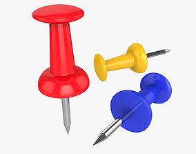 3D model Push Pin