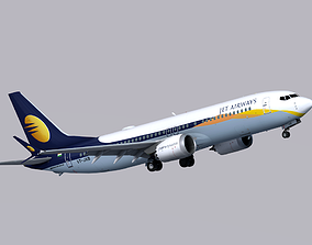3D model Boeing 737 MAX-8 Jet Airways