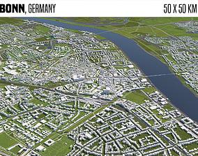 Bonn Germany 3D model