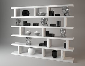3D Visionnaire forma mentis bookshelf