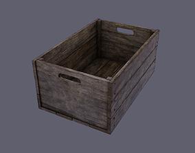 3D model Small wood box