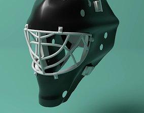 Hockey Goalie Mask 3D model
