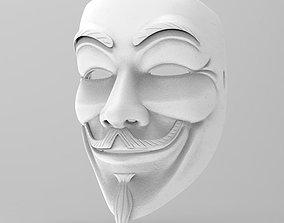 mask - anonymous 3D print model