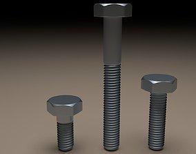 3D model Bolts pin
