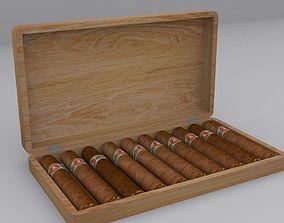 3D asset Cigar Box
