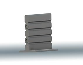 Tall Wall 3D print model