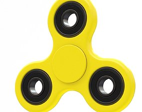 3D Yellow seam spinner