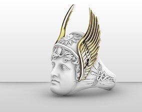 god hermes ring 3d model