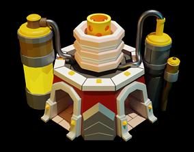 Laboratory Clash of Clans 3D asset