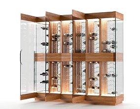 Contemporary Wine Cellar 3D model