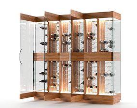 3D model Contemporary Wine Cellar