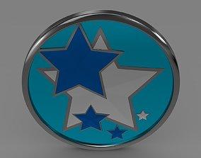 3D model Venucia logo