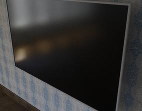 game-ready LED TV 3D Model screen