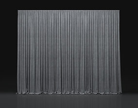 3D Curtain Grey-8