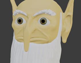3D model Carolinus - The Green Wizard