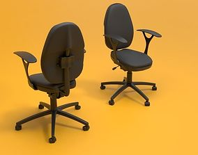 3D model office rolling chair