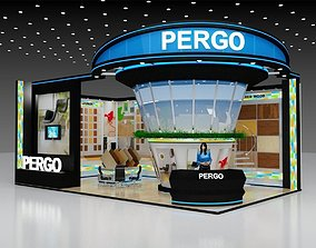 3D Exhibition stand Size 10X6Mtr