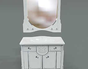 3D Furniture for bathroom Edelform Luize