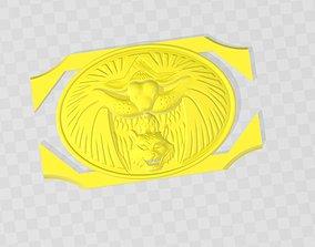 3D print model Logo Belt Gaoranger- Power Ranger WildForce