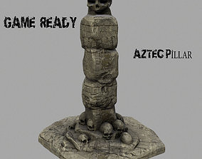 skull pillar 1 3D