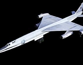 3D model Myasishchev M-50 Bounder