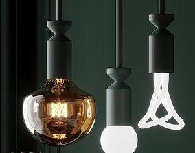 FILD and Plumen STICK Lamp 3D