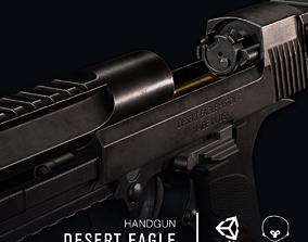 3D model VR / AR ready Desert Eagle