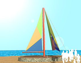 3D model tent SHADE and SHADOW