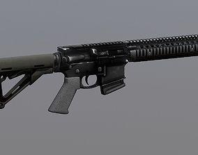 3D model AR Pistol SBR PBR