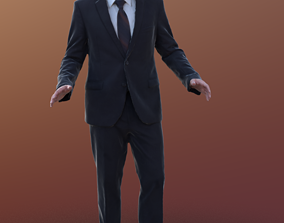 Simon 10033 - Business VR Man 3D model