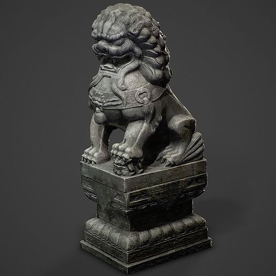 Chinese ancient Lion