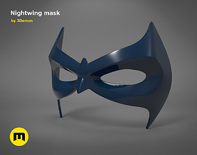 Nightwing mask bruce 3D printable model
