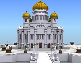 3D model Islamic Buildings