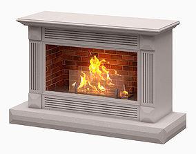 Fireplace 001 3D model