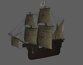 Spain ship 3D printable model