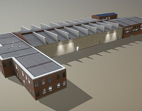 Airport Hangar SKBO Hangar22 3D asset
