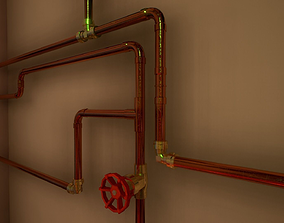 3D model Pipes and ventilations