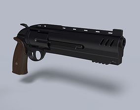 3D print model Revolver from movie Hellboy 2019