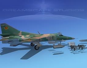 Mig-27 Flogger V12 Kazakhstan 3D