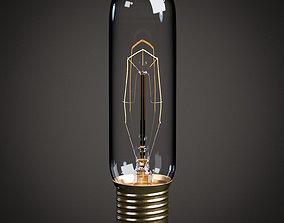 Lightbulb - T10 Tube Vintage Edison Bulb 3D asset